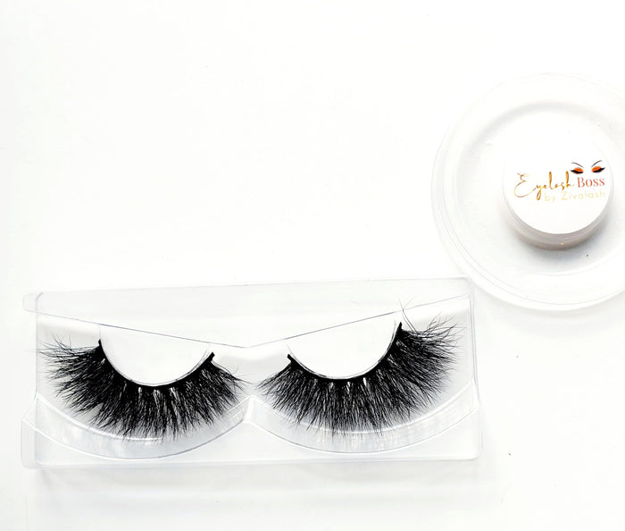 Takia Besties 3D Mink Lashes - ZivaLash Silk, Mink &Fashion Lashes
