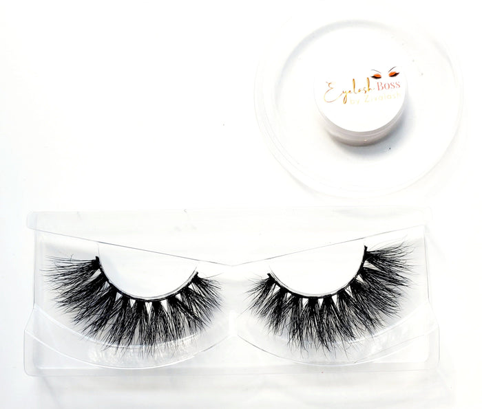 Sabina - 2D Mink Lashes - ZivaLash Silk, Mink &Fashion Lashes