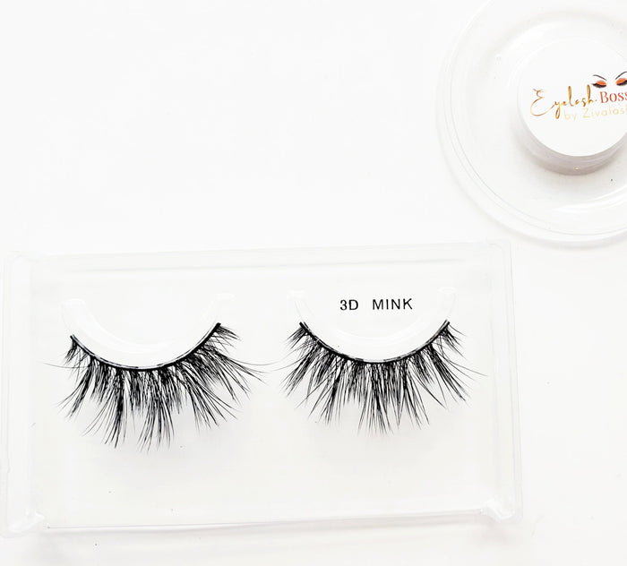 Sofia 2D Mink Eyelashes - ZivaLash Silk, Mink &Fashion Lashes