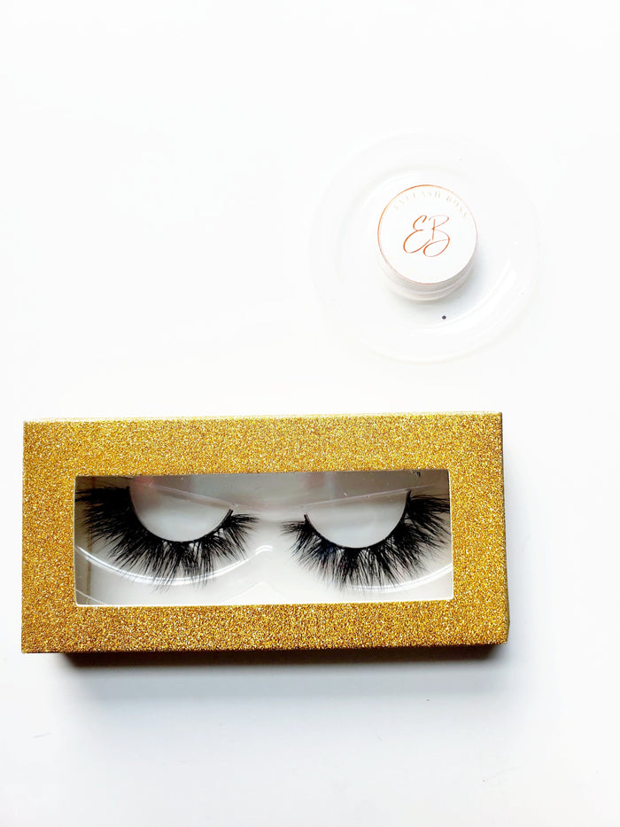 Honey Gold - Rectangle Paper Eyelash Boxes - ZivaLash Silk, Mink &Fashion Lashes