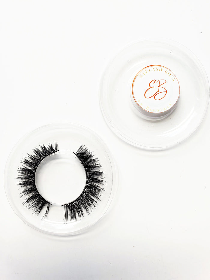Amanda 2D Fashion Lashes - ZivaLash Silk, Mink &Fashion Lashes