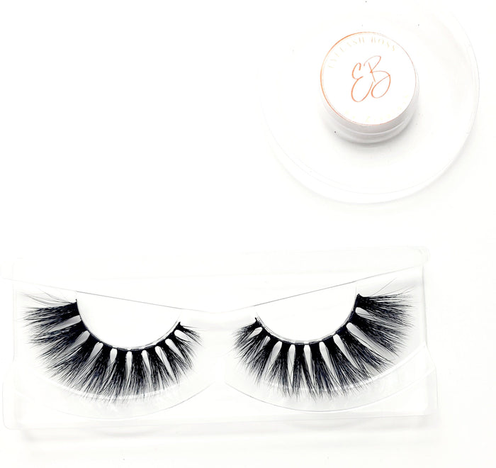 Ciarra 3D Mink Lashes - ZivaLash Silk, Mink &Fashion Lashes