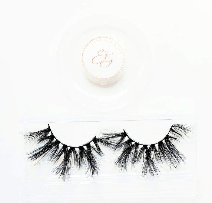 Mind Ya Bizness - 25MM Mink Eyelashes - ZivaLash Silk, Mink &Fashion Lashes