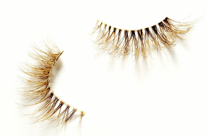 Safeword Blondie Colored Mink Eyelashes - ZivaLash Silk, Mink &Fashion Lashes