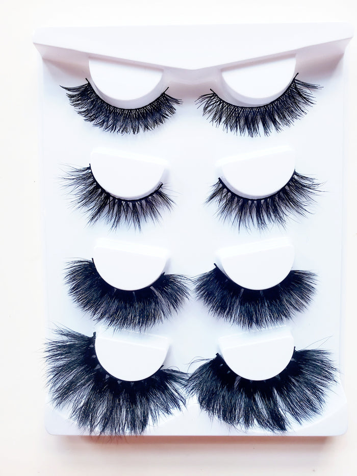 Zivalash Mink Eyelash Sample Collection - ZivaLash Silk, Mink &Fashion Lashes