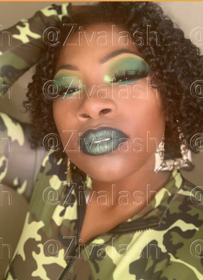 "MUA Photo of ""Drama Queen"" - ZivaLash Silk, Mink &Fashion Lashes"