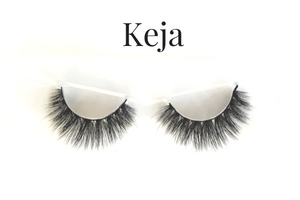 Keja - 3D Mink Lashes - ZivaLash Silk, Mink &Fashion Lashes