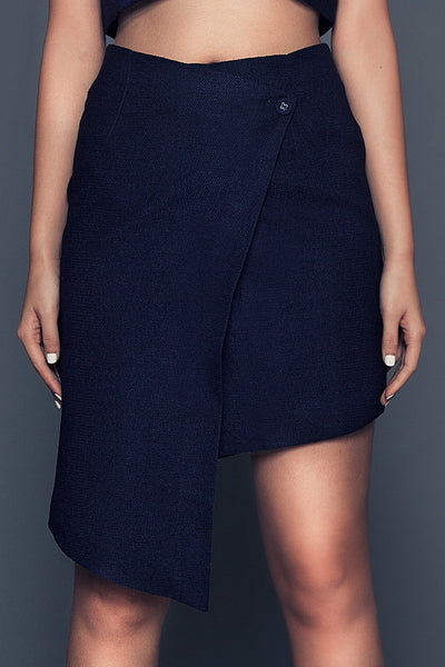 Dani Skirt | Asymmetrical wrap skirt