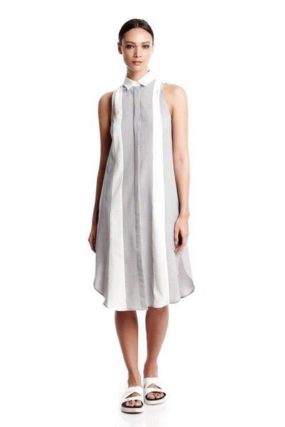 Robin Dress | Sleeveless shirt dress