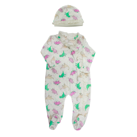 Pijama Enteriza+Gorro 1192  Fashion Kids