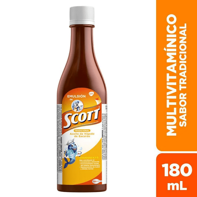 Emulsion Scott Tradicional X180Ml