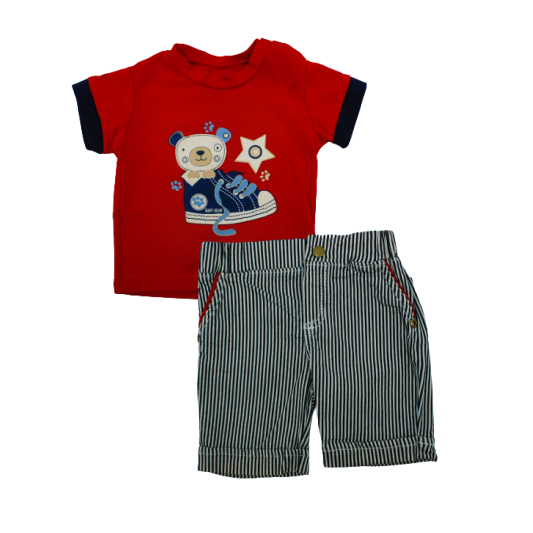 Conjunto 3412 Fashion Kids