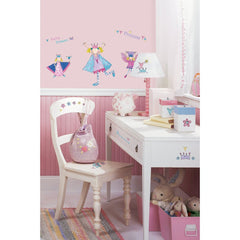 Vinilo Decorativo Reutilizable Princesitas