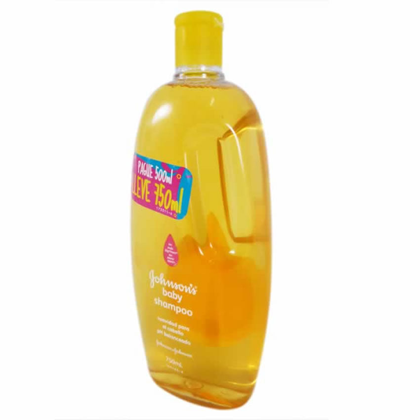 Shampoo J,J Baby Original Pague 500ml Lleve 750ml