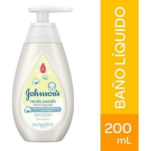 Baño Liq Recien Nacido X200Ml Johnsons (4642240528470)
