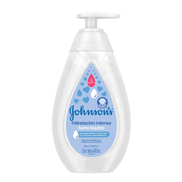 Baño Liquido Hidrat Int X400Ml Johnsons (4642240331862)