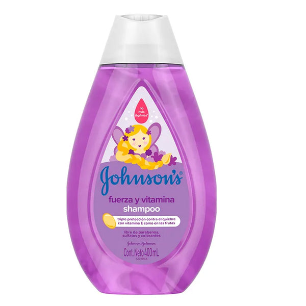 Shampoo Fuerza Y Vitamina X400Ml Johnson (4642240299094)