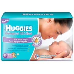 Huggies Recien Nacidos x50