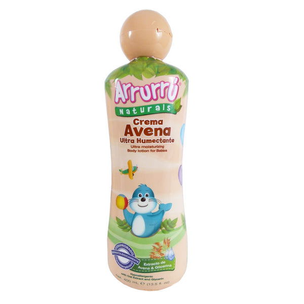 Crema Ultrahumectante Avena X400Ml Arrur (11659231818)