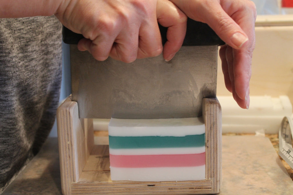 Hand Cutting Soap Bars