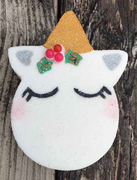 Holly Jolly Unicorn Bath Bomb