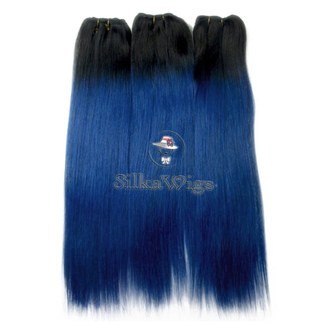 , Blue Hair Extensions, Pastel Blue Hair, Custom Made