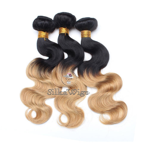 ash blonde hair extension, blonde ombre hair clip ins