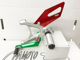 Ducati 899/959/1199/1299 Panigale Rearset Kit - Special Edition Tricolore Finish (Custom Order)