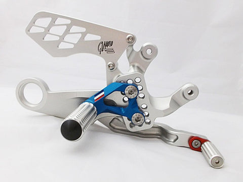 2015 BMW S1000RR Rearset Kit by GiaMoto USA