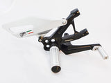 Ducati 899/959/1199/1299 Panigale Rearset Kit - Black Finish