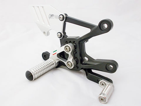 2015 Yamaha R1/R1M/R1S Rearset Kit by GiaMoto USA