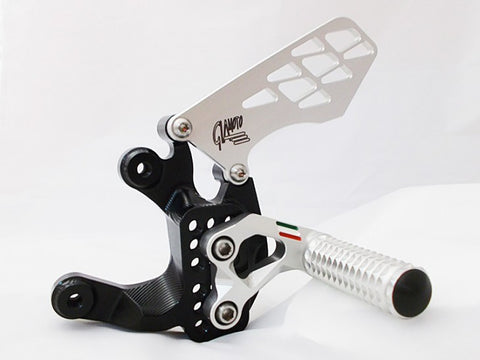 2014 BMW S1000RR Rearset Kit - Black Finish