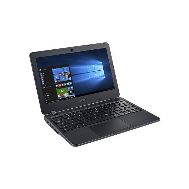 Acer TravelMate B TMB117-M-C0DK 11,6 pulgadas a 1,6 GHz Intel Celeron N3050 / 4GB DDR3L / 32GB eMMC / USB3.0 / Windows 10 Pro Notebook (Negro)