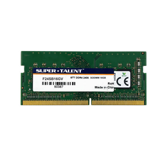 Super Talent DDR4-2400 SODIMM 16GB Valor de memoria portaetil