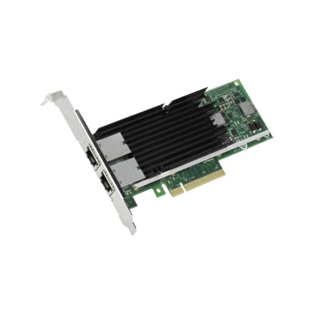 Adaptador de red convergente Intel X540T2BLK doble puerto PCI-Express x8 Ethernet