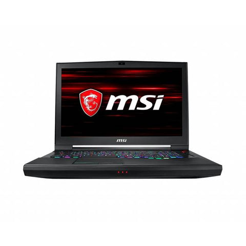 MSI GT75 TITAN-249 de 17,3 pulgadas de 2,6 GHz Intel Core i7-9750H / 32GB DDR4 / 512 GB SSD + HDD de 1 TB / RTX 2070 / USB3.2 / Windows 10 Pro Notebook (Aluminio Negro)