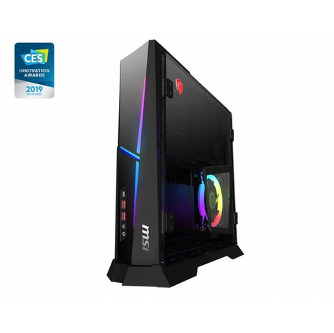 MSI Trident X Plus 9SD-055US Intel Core i7-9700K 3,6 GHz / 16GB DDR4 / 2TB HDD + SSD de 512 GB / RTX 2070 ARMOUR / Windows 10 Pro PC de escritorio (Negro-RGB)