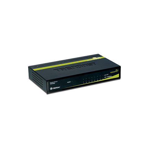 Interruptor de TRENDnet TEG-S80G 8-Port Gigabit GREENnet