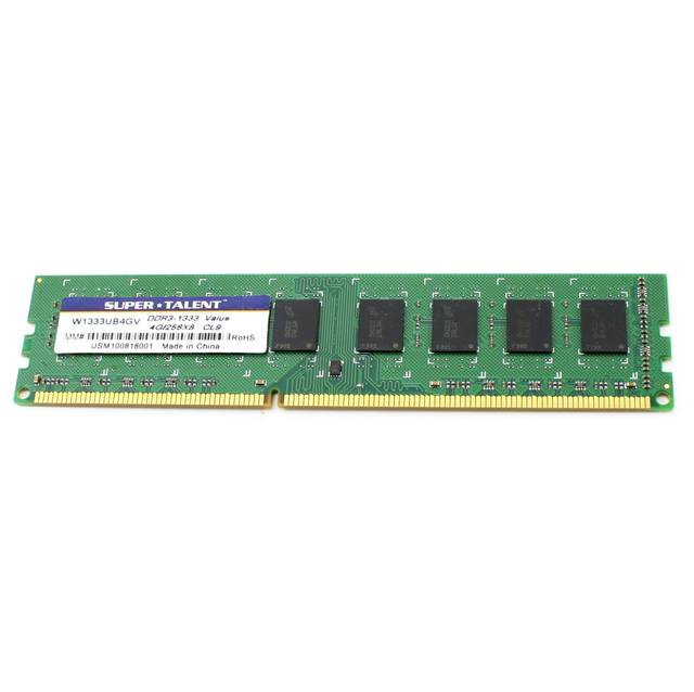 Super Talent DDR3-1333 de 4GB / 256x8 memoria de valores