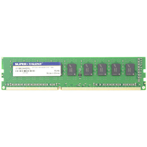 4 GB de memoria / 512Mx8 ECC CL13 Micron viruta servidor Super Talent DDR3L-1866