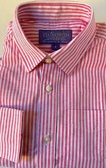 Perfect red stripe shirt
