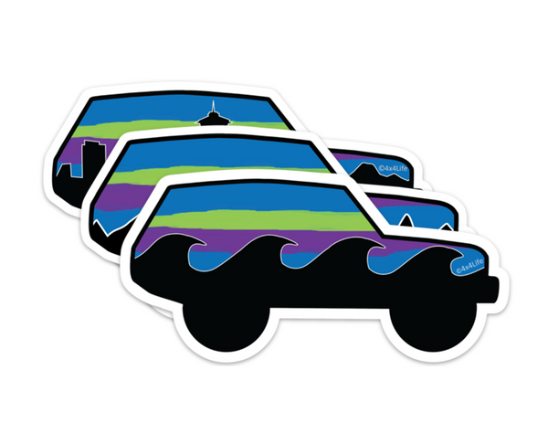 Northern Lights Rover Series Decals