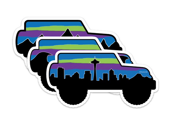 Northern Lights JK Series Decals