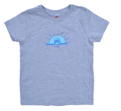 Ladies Gray Sunbeam Tee