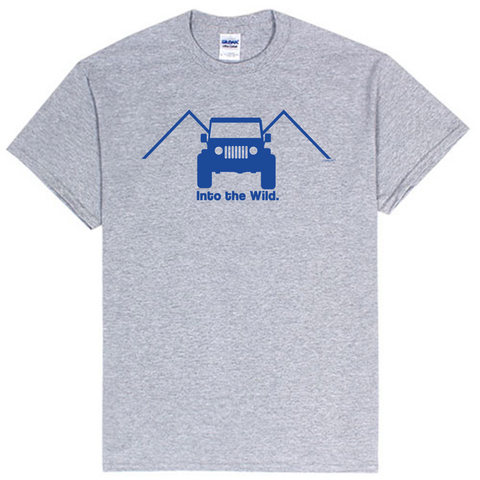 Into the Wild Jeep Enthusiasts T-Shirt