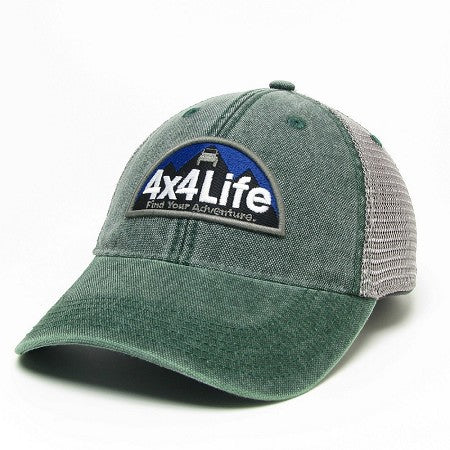 4x4Life Trucker Hat-Green