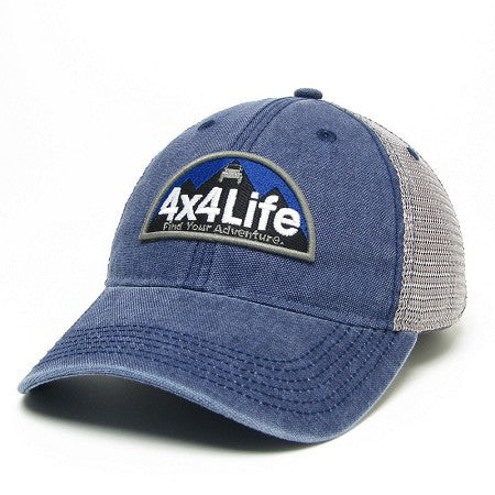 4x4Life Trucker Hat-Blue