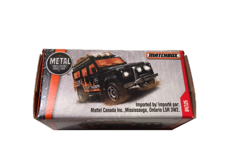 Land Rover Defender Matchbox