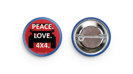 4x4Life Buttons. Buy 1, 2,or all 3!