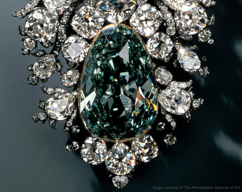 Dresden Green Diamond, 40.70 carats, fancy green diamond, VS1